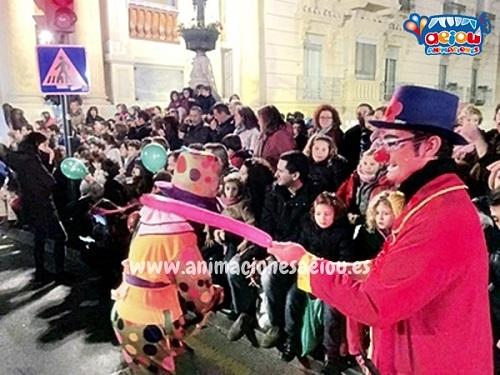 Animadores para fiestas infantiles en Barcelona-caravana