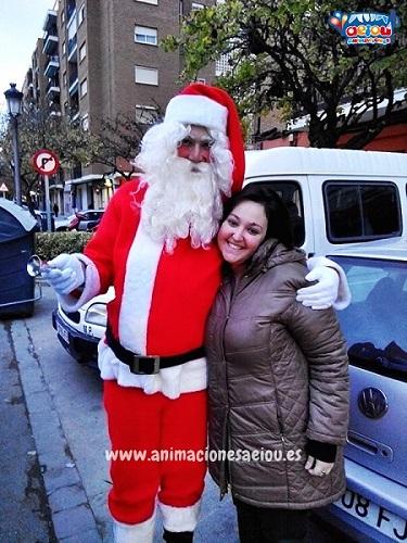 Contratar la visita de Papá Noel a domicilio en Barcelona-santa